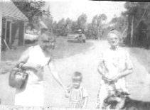 Aunt Mae & us