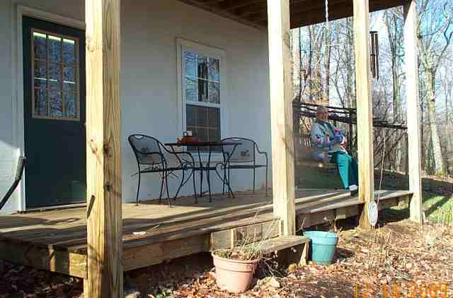 lwer deck and swing