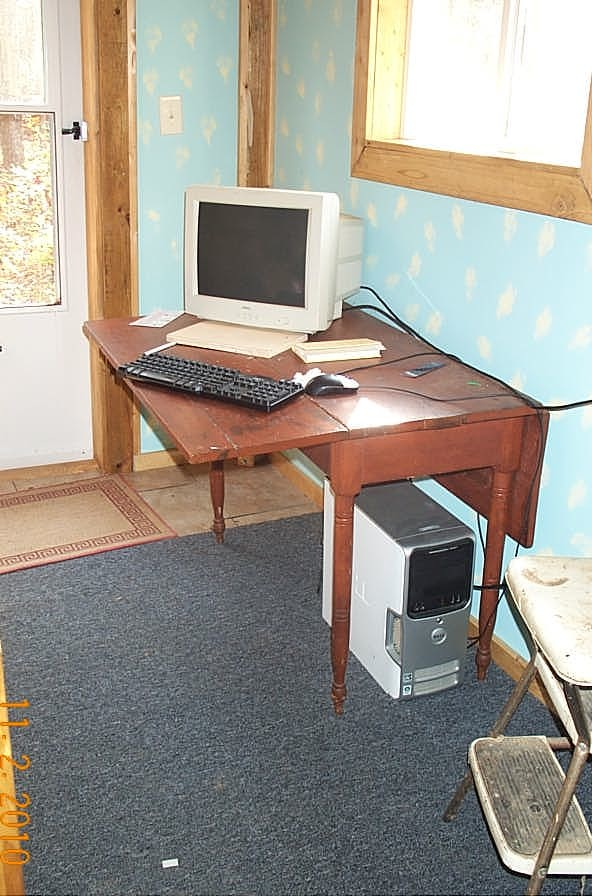 My computer and work corner.