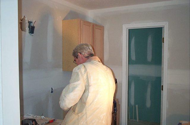 Finishing the kitchen