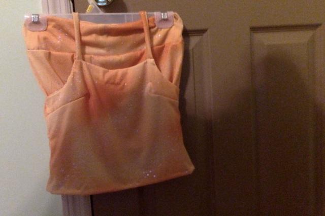 Dyhana's hip hugger skirt and top