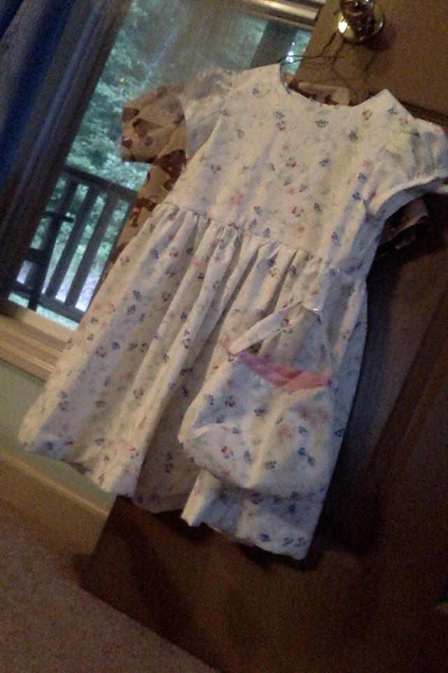 Gina's school dress  1
